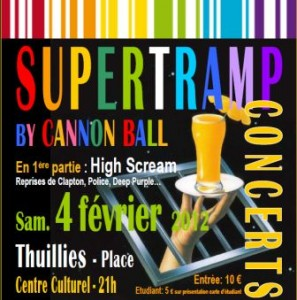 scouts guides thuin supertramp affiche